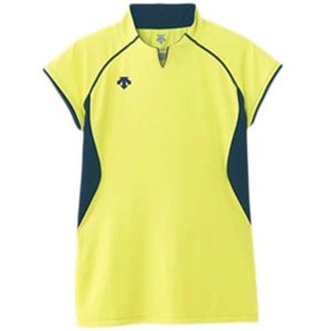 デサント(DESCENT) F/S ゲームシャツ DSS-4430 LYEL|esports