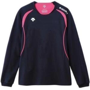 デサント(DESCENT) 長袖ゲームシャツ DSS-5411W NVY レディース ママさん バレーボール ウェア ユニフォーム|esports
