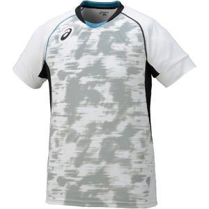 アシックス(asics) ブレードゲームシャツ HS ホワイト XW6722 01 バレーボール バレーウェア 半袖 練習着|esports