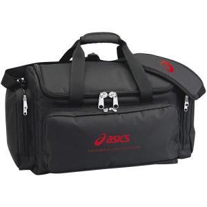 アシックス(acics) トレーナーズバッグプロ ブラック CP1001 90 バレーボール バッグ 鞄 備品入れ|esports