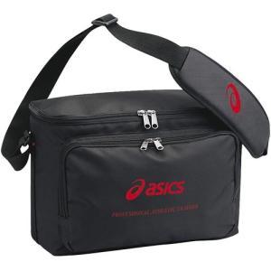 アシックス(acics) トレーナーズバッグ ブラック CP1002 90 バレーボール バッグ 鞄 備品入れ|esports
