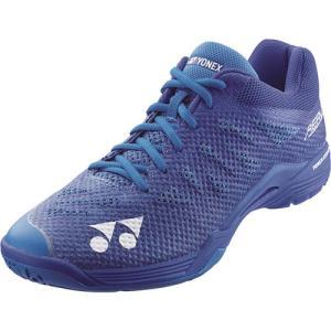 ヨネックス(YONEX) メンズ レディース バドミントンシューズ パワークッションエアラス3メン ブルー SHBA3M 002 バドミントン シューズ 靴|esports