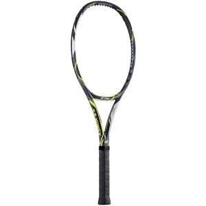 ヨネックス(YONEX) テニスラケット Eゾーン ディーアール98 グリップサイズ1(LG1) ダークガン/ライム EZD98 286 LG1 硬式ラケット 未張り上げ フレームのみ|esports