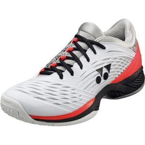 ヨネックス(YONEX) パワークッションフュージョンレブ2 M GC ホワイト/ブラック SHTF2MGC 141 テニスシューズ メンズ レディース オムニ・クレーコート用|esports