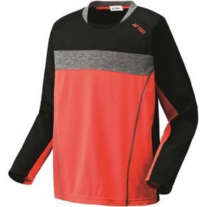 ヨネックス(YONEX) ユニライトトレーナー オレンジ 31012 テニスウェア バドミントンウェア メンズ レディース トレーニング