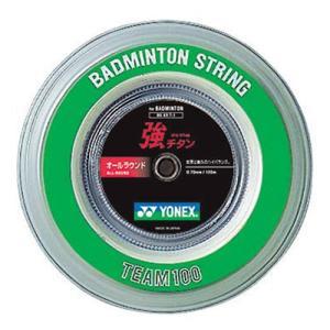 ヨネックス(YONEX) 強チタン(100M) BG65T-1 011 バドミントン バトミントン ガット ストリング|esports
