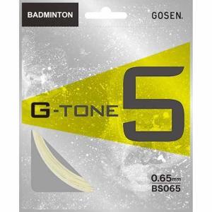 ゴーセン(GOSEN) G-TONE 5 BS065 オレンジ バドミントン ガット ストリングス|esports