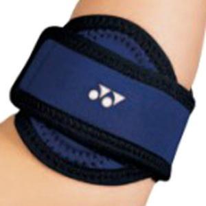 肘に伝わる衝撃に対して、上腕骨内外側上禾顆(じょうわんないがいそくじょうか)を適度に圧迫し、衝撃を緩...