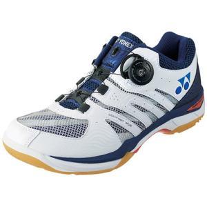ヨネックス(YONEX) パワークッションコンフォートワイド D ネイビーブルー SHBCFWD 019 バドミントンシューズ フットウェア 靴 メンズ レディース|esports