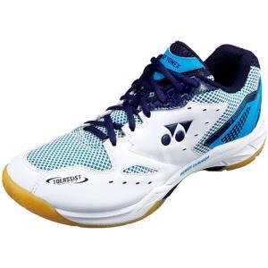 ヨネックス(YONEX) パワークッション769SF ホワイト/スカイブルー SHB769SF 175 バドミントンシューズ フットウェア 靴 メンズ レディース|esports