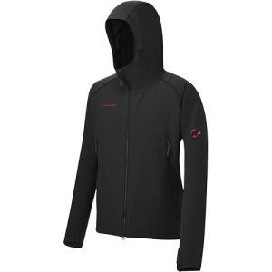 マムート(MAMMUT) SOFtech CLIMB Light Hooded Jacket Men ソフテック クライムライトフーディー ジャケット Black/ブラック 1010-23000 メンズ アウター|esports