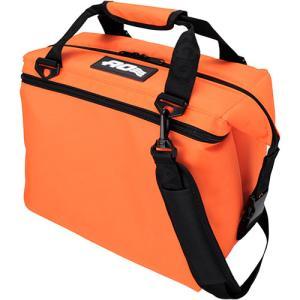 エーオークーラーズ(AOクーラー) 12パック キャンバス ソフトクーラー オレンジ AO12OR ...