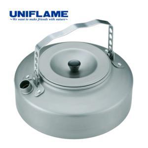 ユニフレーム UNIFLAME キャンプ 調理器具 キッチンツール ケトル900 No.667736 シルバー やかん 焚き火|esports