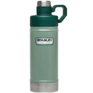 スタンレー(STANLEY) クラシック真空ウォーターボトル 0.53L グリーン 02105-021 アウトドア 水筒 保温 保冷