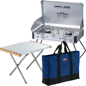 ユニフレーム UNIFLAME 3点セット ツインバーナーU...