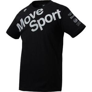 デサント(DESCENTE) メンズ デオダッシュコットン Tシャツ ブラック DMMNJA53 B...