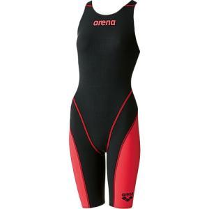 アリーナ(arena) ジュニアハーフスパッツオープンバック BKRD ARN-7010WJ 女子用競泳水着 競技用 FINA承認|esports