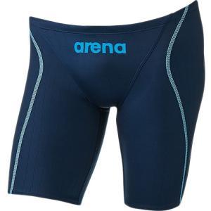 アリーナ(arena) ハーフスパッツ NVY ARN-7022M 男性用競泳水着 メンズ 競技用 FINA承認|esports