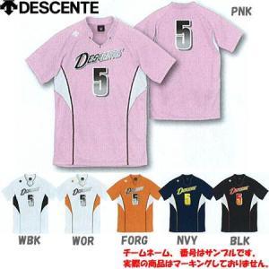 DESCENTE(デサント) 半袖ゲームシャツ DSS-4823 バレーボール ウエア ユニフォーム メンズ レディース|esports
