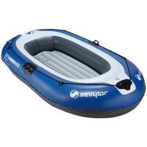 コールマン(Coleman) アウトドア スーパーカラベル 3人用コンボ 2000009248 ボート 水遊び ウォータースポーツ 海・湖 フットポンプ オール