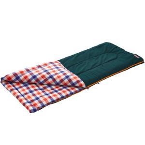 コールマン(Coleman) キャンプ 寝袋 シュラフ フリースEZキャリースリーピングバッグ/C5(レッドチェック) 封筒型 2000026649 アウトドア 防災 esports