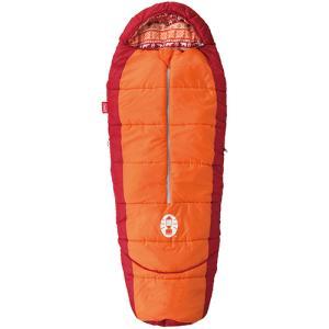 コールマン(Coleman) キャンプ 寝袋 ジュニア キッズマミーアジャスタブル/C4(オレンジ)...