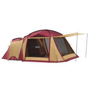 コールマン Coleman タフスクリーン2ルームハウス バーガンディ 2000032598 テント キャンプ アウトドアの商品画像|ナビ