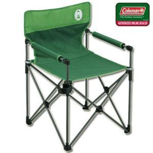 コールマン(Coleman) キャンプ カップホルダー付きスリムチェア(グリーン) 2000010512 アウトドア バーベキュー 椅子 運動会 コンパクト