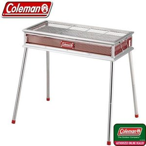 コールマン Coleman クールスパイダーステンレスグリルグランデ レッド 170-9430 バー...
