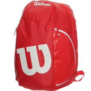 ウイルソン(Wilson) テニス バッグ バンクーバー バックパック VANCOUVER BACKPACK RDWH レッド/ホワイト WRZ840796 ラケットバッグ リュックサック
