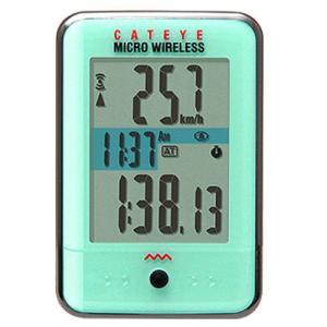 キャットアイ(CATEYE) マイクロワイヤレスMICRO WIRELESS C.グリーン 526-...