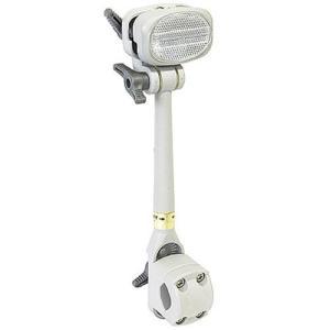 第一精工 No.6 かさキャッチ (前子供のせ付自転車&シルバーカー用) グレー 451-00010 自転車 サイクル 雨 レイン 傘|esports