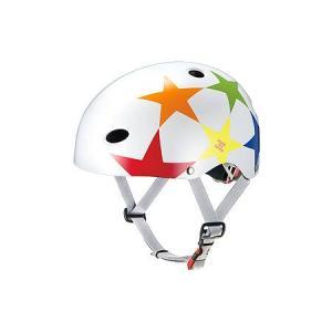 オージーケーカブト(OGK KABUTO) FR-KIDS FR・キッズ スターホワイト 211-01141 自転車 サイクル ヘルメット ウェア 安全