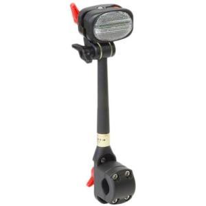 第一精工 かさキャッチ(前子供のせ付自転車&シルバーカー用)No.6 ブラック 自転車 傘 ホルダー 11|esports