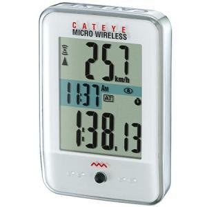キャットアイ(CATEYE) CC-MC200W マイクロワイヤレス ホワイト 526-00125 ...
