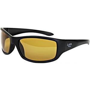 LSDデザインズ(LSD Designs) D.Flyman Slim/Mat Black Frame (ディーフライマン スリム/マットブラック フレーム) 偏光サングラス ライトイエロー 355677 esports