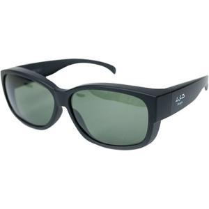LSDデザインズ(LSD Designs) Overglass type2/Mat Black (オーバーグラス タイプ2/マットブラック フレーム)偏光サングラス グレーグリーン 356926 釣り|esports