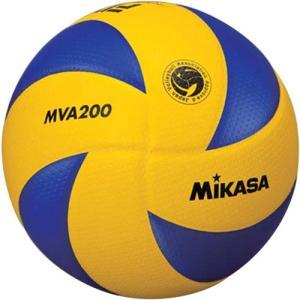 MIKASA(ミカサ) バレーボール試合球 5号 MVA200 青/黄 バレーボール 5号球|esports