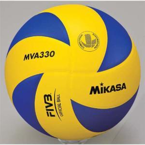 MIKASA(ミカサ) バレーボール練習球 5号 MVA330 青/黄 バレーボール 5号球|esports
