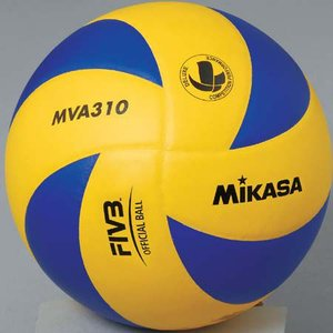 MIKASA(ミカサ) バレーボール練習球 5号 MVA310 黄/青 バレーボール 5号球|esports