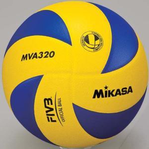 MIKASA(ミカサ) バレーボール練習球 5号 MVA320 黄/青 バレーボール 5号球|esports