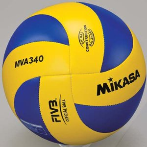 MIKASA(ミカサ) バレーボール練習球 5号 MVA340 黄/青 バレーボール 5号球|esports