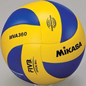 MIKASA(ミカサ) バレーボール練習球 5号 MVA360 黄/青 バレーボール 5号球|esports