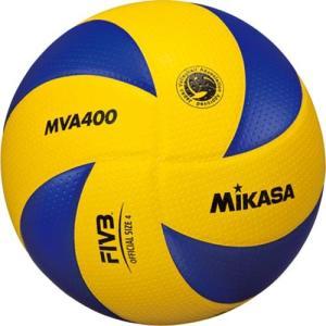 MIKASA(ミカサ) バレーボール 4号 MVA400 黄/青 バレーボール 4号球|esports
