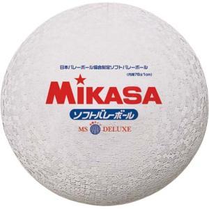 MIKASA(ミカサ) ソフトバレーボール ファミリー・トリムの部試合球 MS-78-DX-W ホワイト ソフトボレーボール|esports