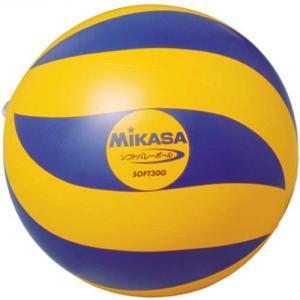 MIKASA(ミカサ) ソフトバレーボール SOFT30G 黄/青 ソフトボレーボール|esports