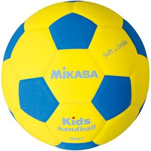 ミカサ(MIKASA) ハンドボール スマイルハンド軽量1号球 キッズ用 150g SH1-YBL ハンドボール 1号 小学生用