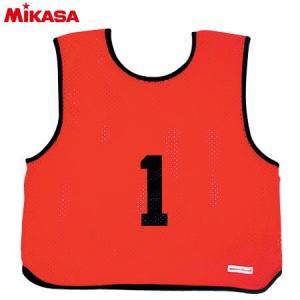 MIKASA(ミカサ) ゲームジャケット ソフトバレー用 レギュラーサイズ (1〜15番) GJSV-R ビブス ゲームベスト 試合 練習用品|esports