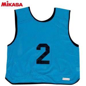 MIKASA(ミカサ) ゲームジャケット ソフトバレー用 レギュラーサイズ (1〜15番) GJSV-B ビブス ゲームベスト 試合 練習用品|esports