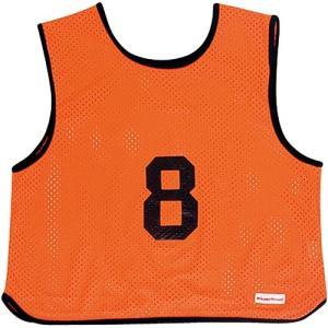 MIKASA(ミカサ) ゲームジャケット ソフトバレー用 レギュラーサイズ (1〜15番) GJSV-O ビブス ゲームベスト 試合 練習用品|esports